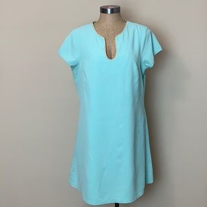 Buckley K Mini Tunic  Dress Large EUC 100% Silk